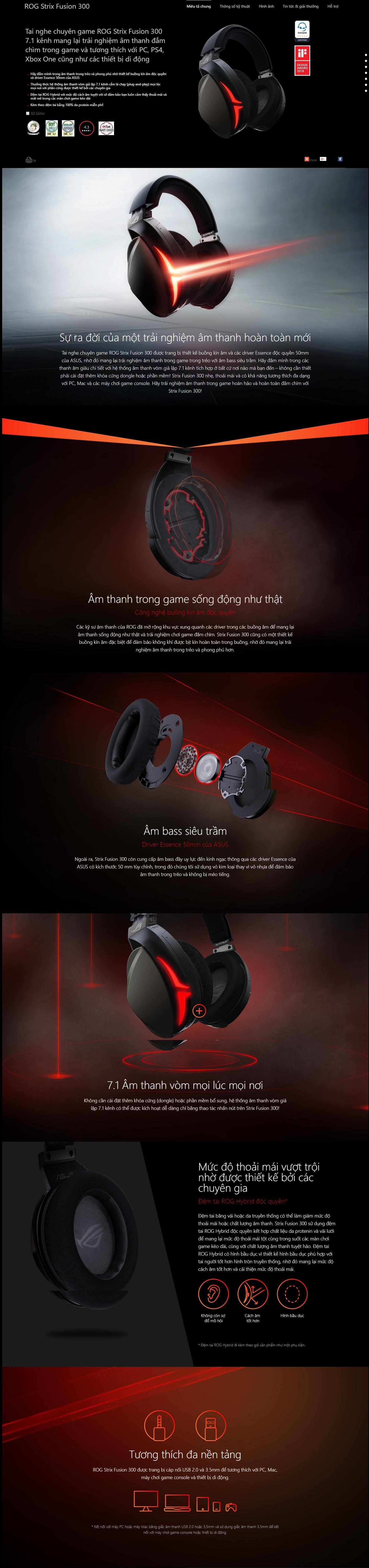 Kết quả hình ảnh cho Asus ROG Strix Fusion 300\